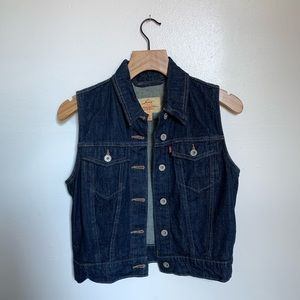 Levi's Blue Jean Vest